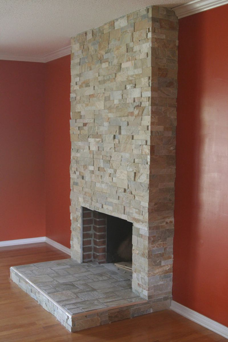 Fireplace Facade journeyman carpentry - fireplace and mantel. monday, may 4, 2015